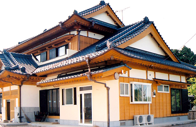 入母屋造り建築例