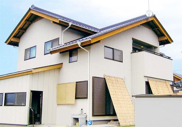 木造住宅建築例