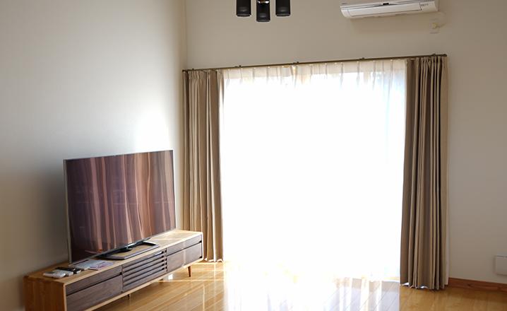 木造住宅:那珂市A邸のリビング
