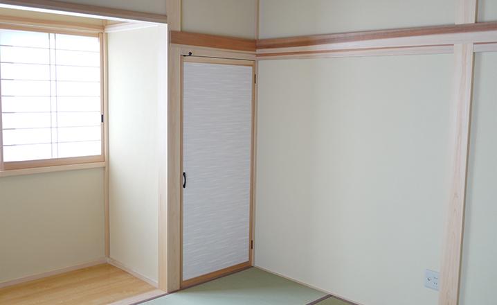 木造住宅:那珂市A邸:和室の押入2