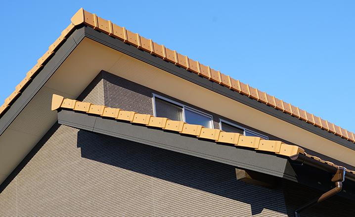 木造住宅:那珂市A邸の屋根