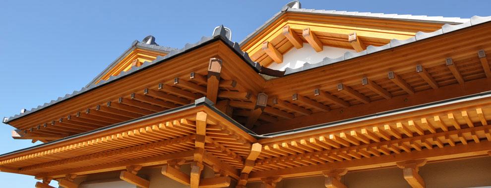 日本伝統の木造住宅 数奇屋造